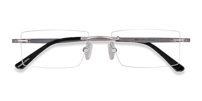 Silver Primo -  Lightweight Metal Eyeglasses