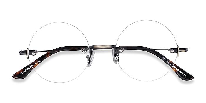 Bronze Palo Alto -  Vintage Metal Eyeglasses