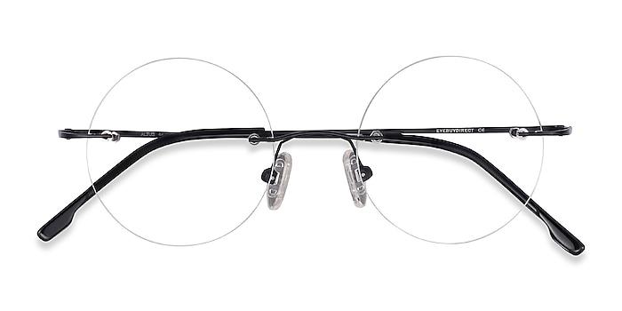 Black Altus -  Lightweight Metal Eyeglasses