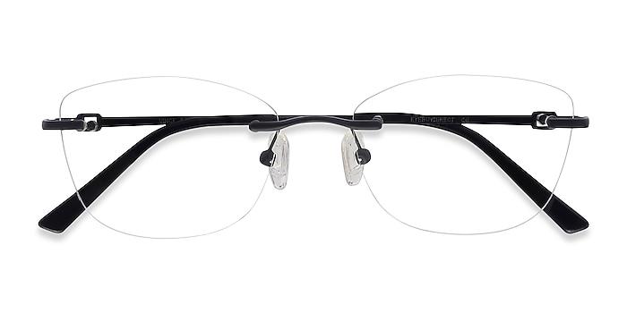 Black Vince -  Lightweight Metal Eyeglasses