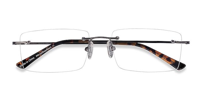 Gunmetal Evolve -  Lightweight Metal Eyeglasses