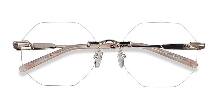 Gold Glas -  Fashion Metal Eyeglasses