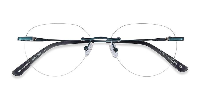Navy Feel -  Lightweight Metal Eyeglasses