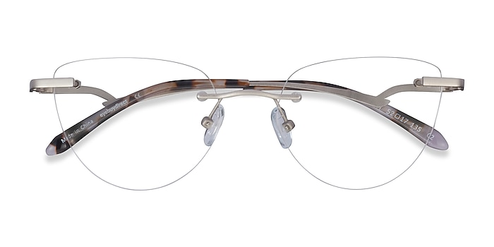 Matte Gunmetal Harmony -  Lightweight Metal Eyeglasses