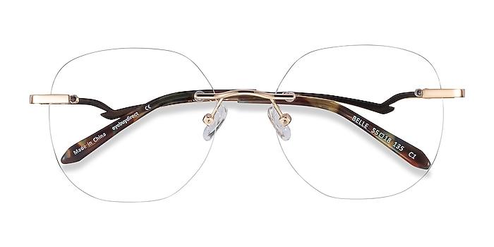 Gold Belle -  Vintage Metal Eyeglasses