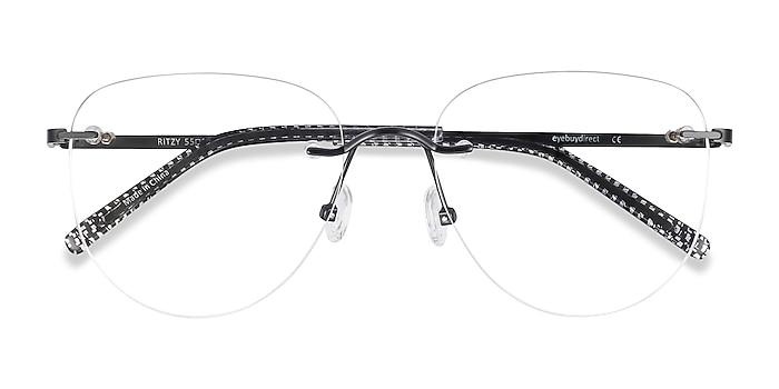 Black Ritzy -  Metal Eyeglasses