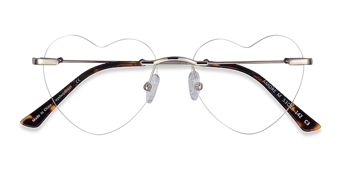 Silver Amore -  Metal Eyeglasses