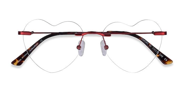 Red Amore -  Metal Eyeglasses