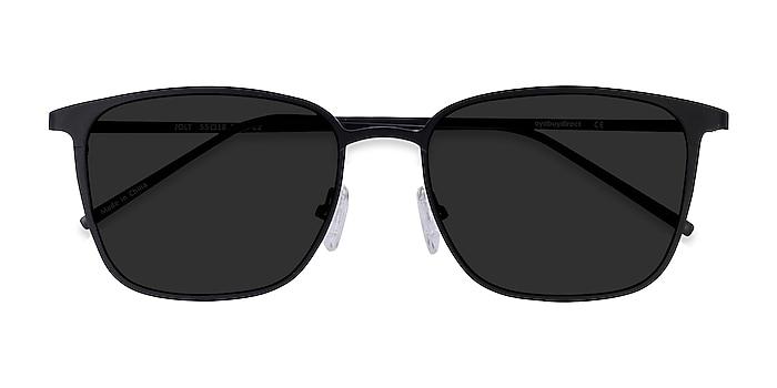 Black Jolt -  Metal Sunglasses
