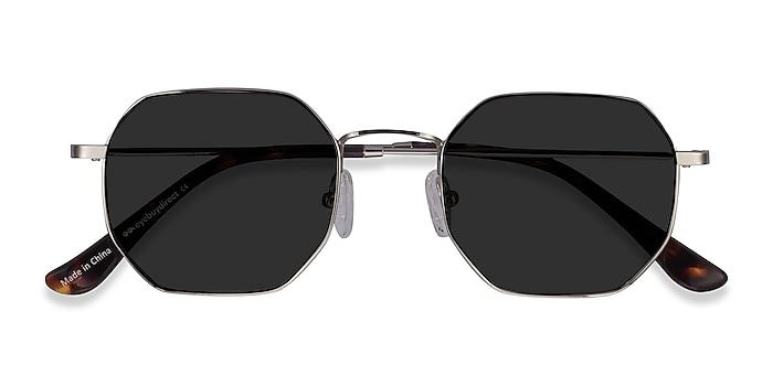 Silver Sun Soar -  Metal Sunglasses