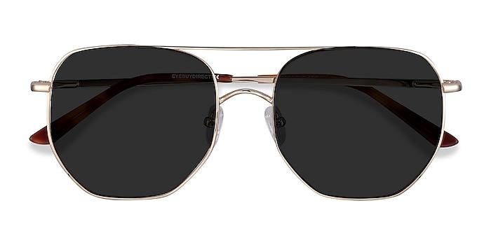 Golden Impossible -  Vintage Metal Sunglasses