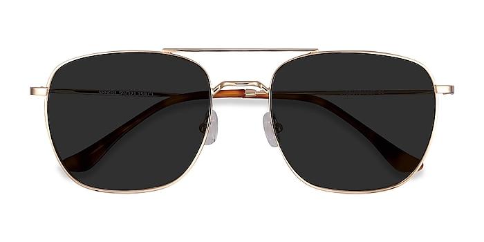Golden Seeker -  Vintage Metal Sunglasses
