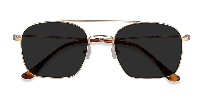 Golden Itza -  Vintage Metal Sunglasses
