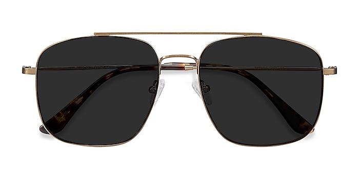 Copper Roadtrip -  Vintage Metal Sunglasses