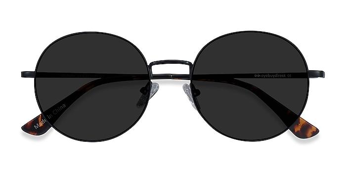 Black Solbada -  Metal Sunglasses