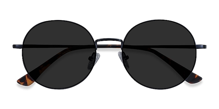 Navy Solbada -  Metal Sunglasses