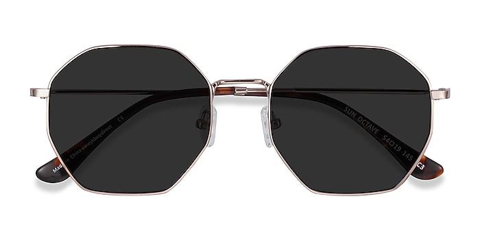Rose Gold Sun Octave -  Metal Sunglasses
