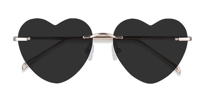 Gold Sun Amore -  Metal Sunglasses