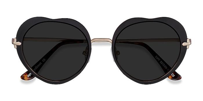 Black Luv -  Metal Sunglasses