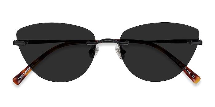 Black Linger -  Metal Sunglasses