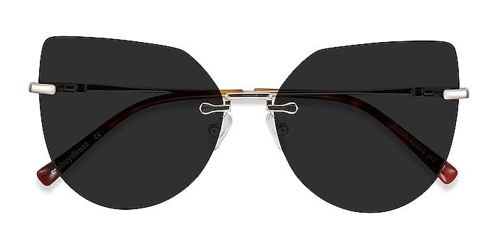Light Gold Toyah -  Metal Sunglasses