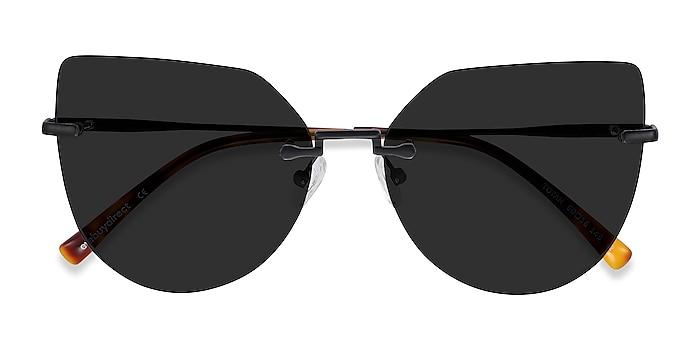 Black Toyah -  Metal Sunglasses