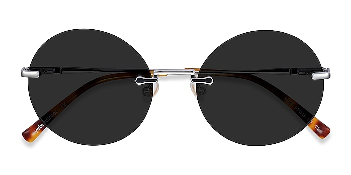 Silver Wise -  Metal Sunglasses