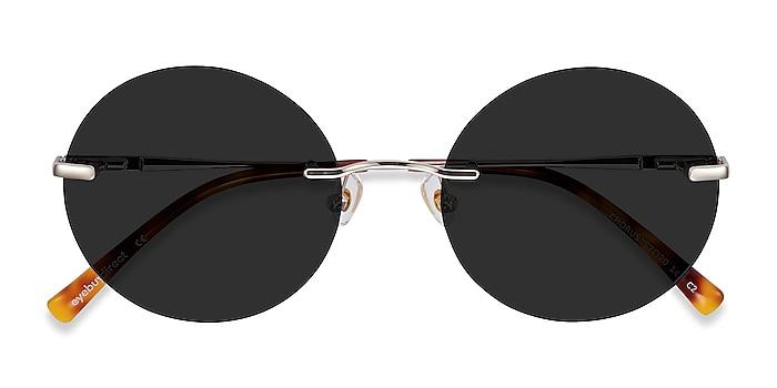 Light Gold Chorus -  Metal Sunglasses
