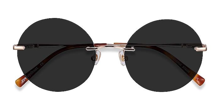 Rose Gold Chorus -  Metal Sunglasses