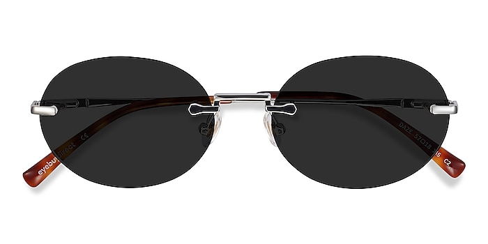 Silver Daze -  Metal Sunglasses