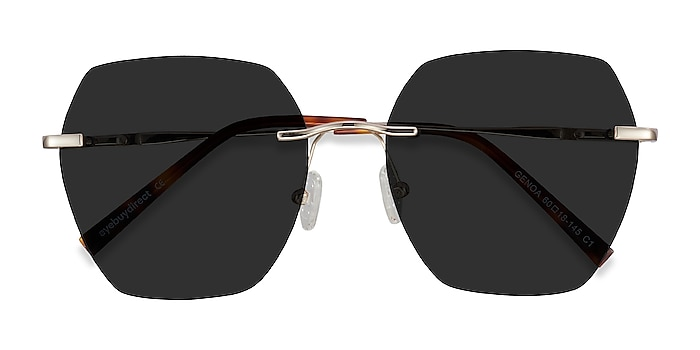 Gold Genoa -  Metal Sunglasses