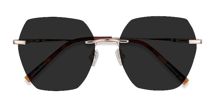 Rose Gold Genoa -  Metal Sunglasses