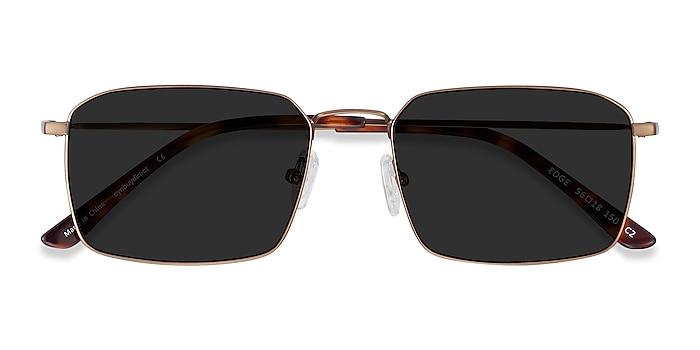 Bronze Edge -  Metal Sunglasses