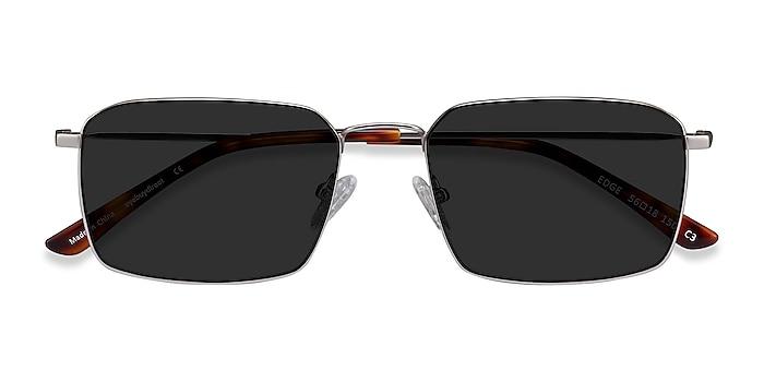 Silver Edge -  Metal Sunglasses