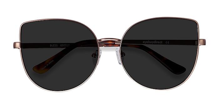 Rose Gold Bless -  Metal Sunglasses