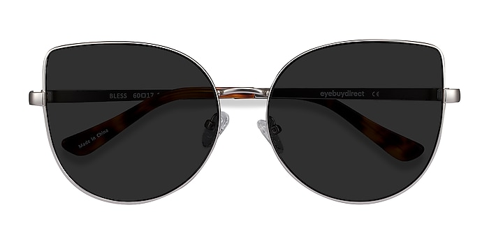 Silver Bless -  Metal Sunglasses