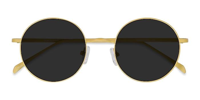 Yellow Sun Synapse -  Metal Sunglasses