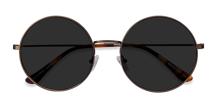Bronze Teavee -  Metal Sunglasses