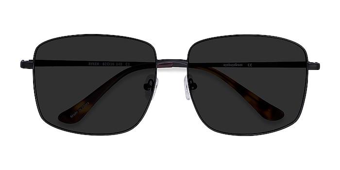 Black Ryker -  Metal Sunglasses