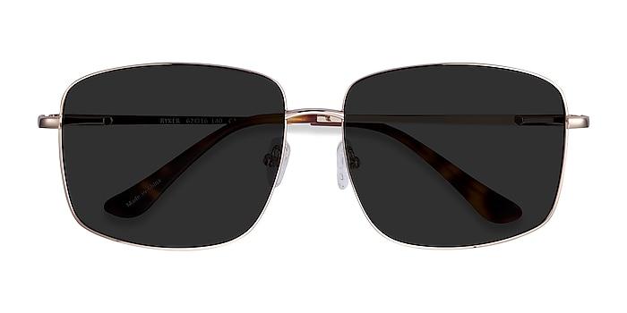 Gold Ryker -  Metal Sunglasses