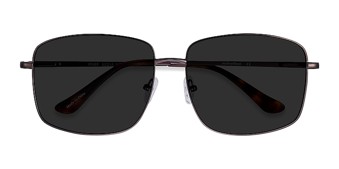 Coffee Ryker -  Metal Sunglasses