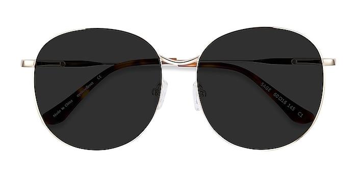 Gold Sage -  Metal Sunglasses