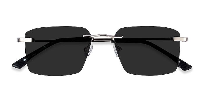 Silver Invent -  Metal Sunglasses