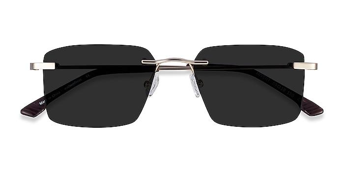 Matte Gold Invent -  Metal Sunglasses