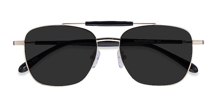 Gold Black Jackson -  Acetate Sunglasses