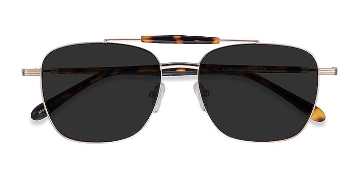 Gold Tortoise Jackson -  Acetate Sunglasses