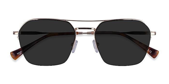 Gold Decade -  Metal Sunglasses