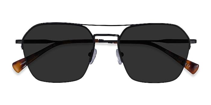 Black Decade -  Metal Sunglasses
