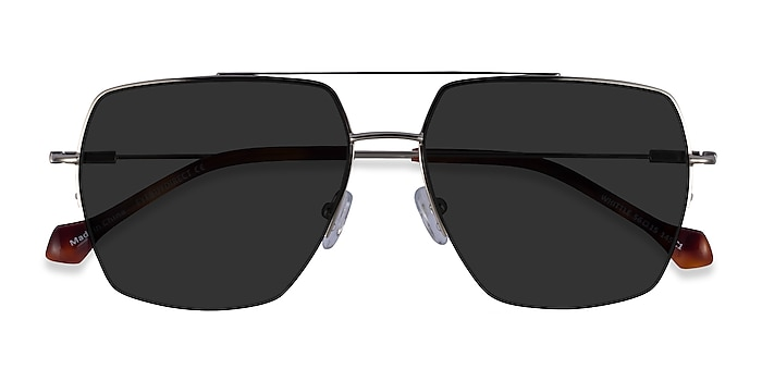 Silver Whittle -  Metal Sunglasses