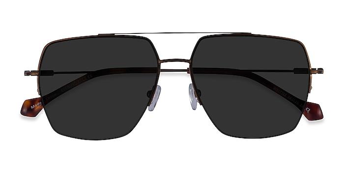 Bronze Whittle -  Metal Sunglasses